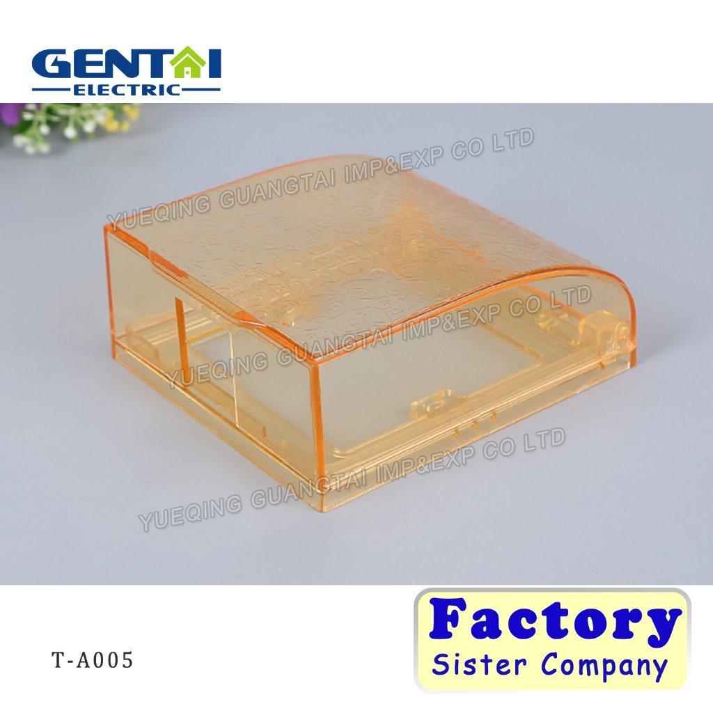 Plastic Wall Mount Waterproof Switch Case, Waterproof Switch Socket Box