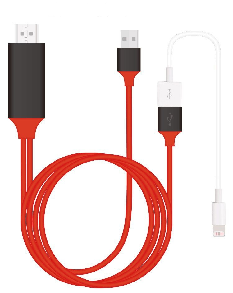Newest Products, 8pin Lightning to HDMI Cable HDTV Cable Mfi