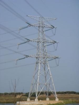 Power Transmission Lattice Steel Tower