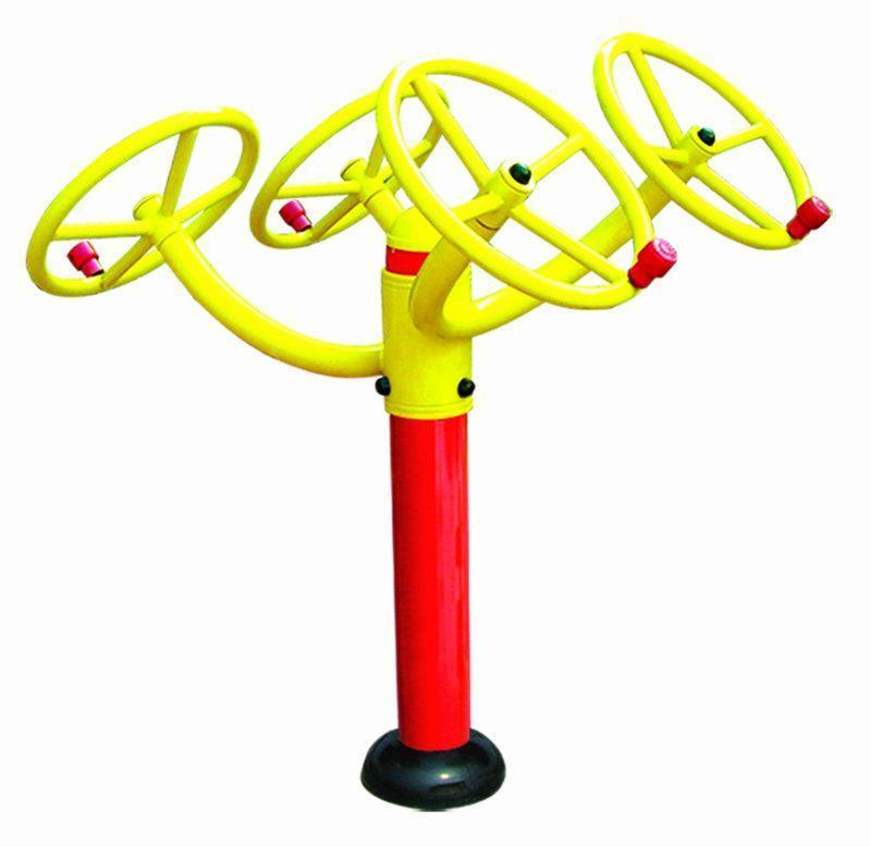 Gym Park Amusement Outdoor Fitness Playground Equipment From Qingdao China