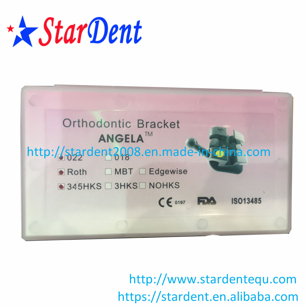 Hot Sale Dental Orthodontic Metal Roth Brackets