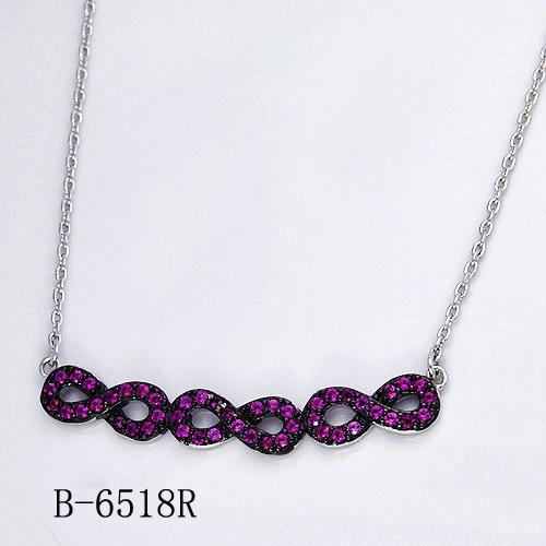 Hotsale 925 Sterling Silver Necklace Imitation Jewelry