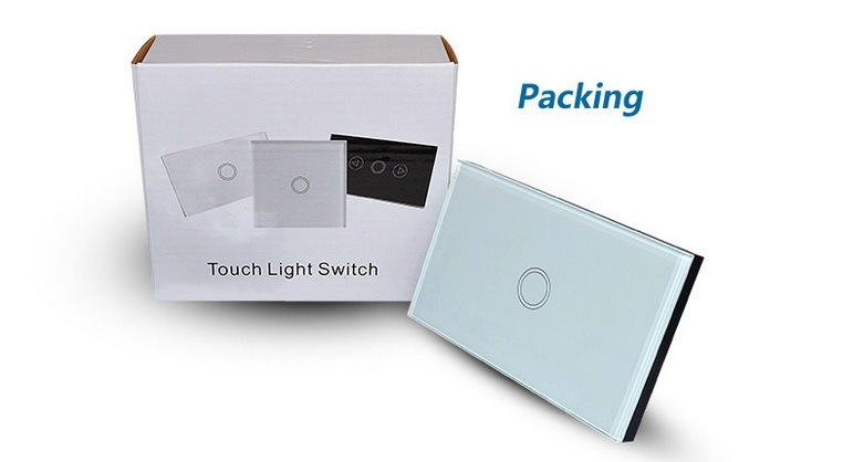 AC 110V 220V 230V WiFi APP Control Smart Home Touch Light Wall Switch