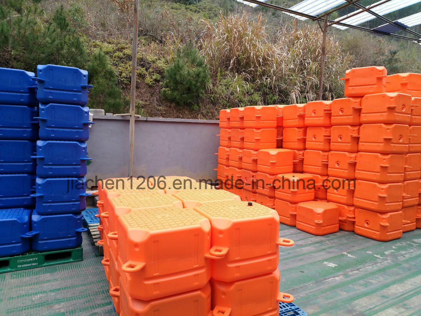Durable Blue Plastic Floating Pontoon Dock Used Jet Ski Float