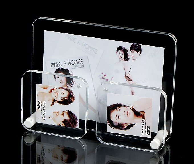 Customize Wholesale New Clear Acrylic Photo Frame