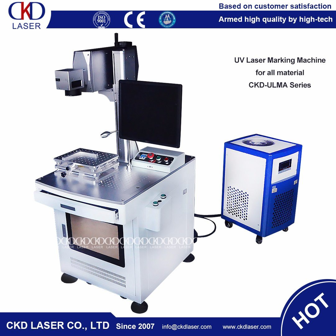 High Precision UV Laser Marker Engraving Machine on Glass Stone