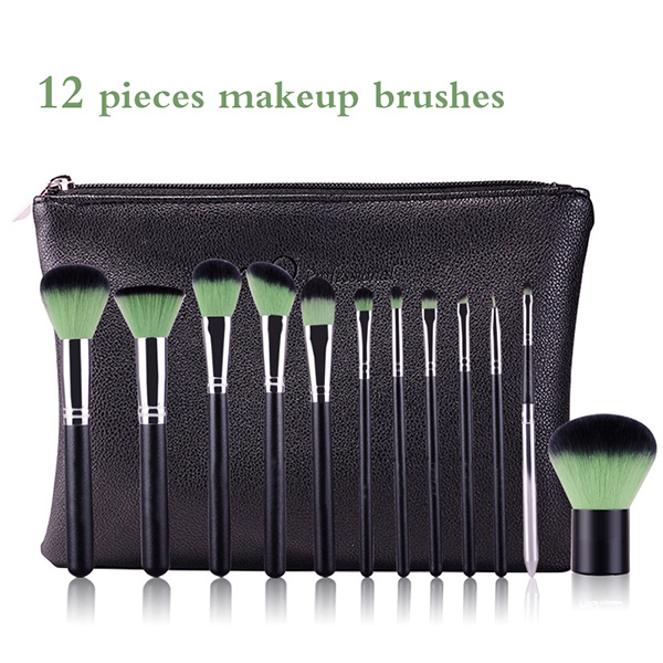New Arrival 12 Pieces High Quality Makeup Brush Set