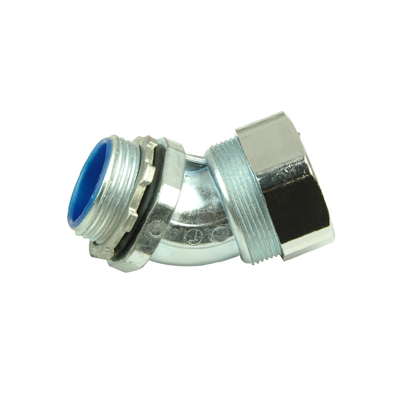 45 or 90 Angel Connector, Connector Conduit, Flexible Conduit Size: 3""