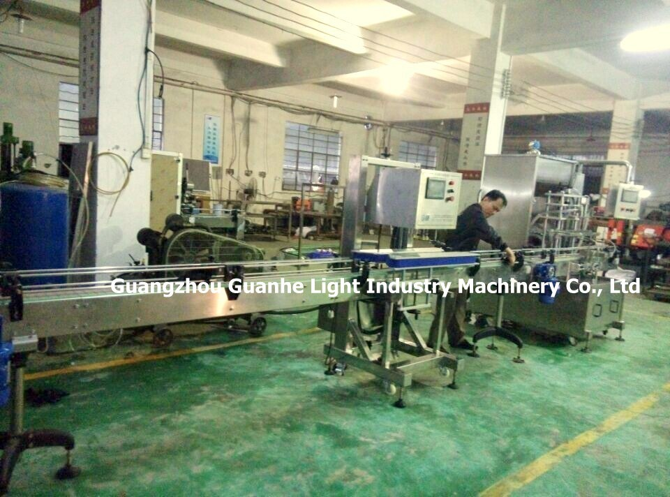 Factory Price Linear Liquid Bottling Machine with Rotor Pump Filling