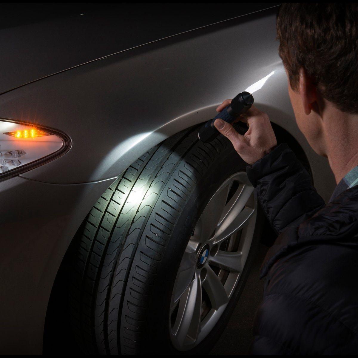 3 in 1 Car Emergency Tool with Rescue Seat Belt Cutter Escape Window Breaker Survival LED Flashlight