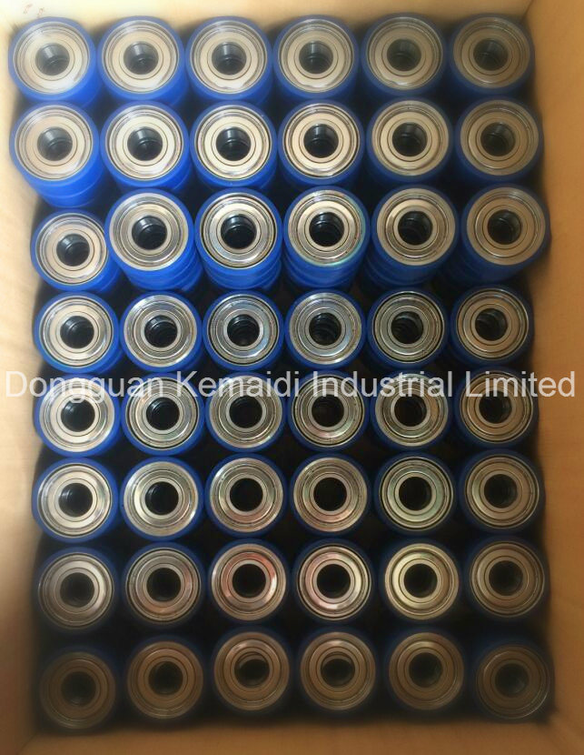 6204zz Rubber Coated Bearing of Good Lubrication