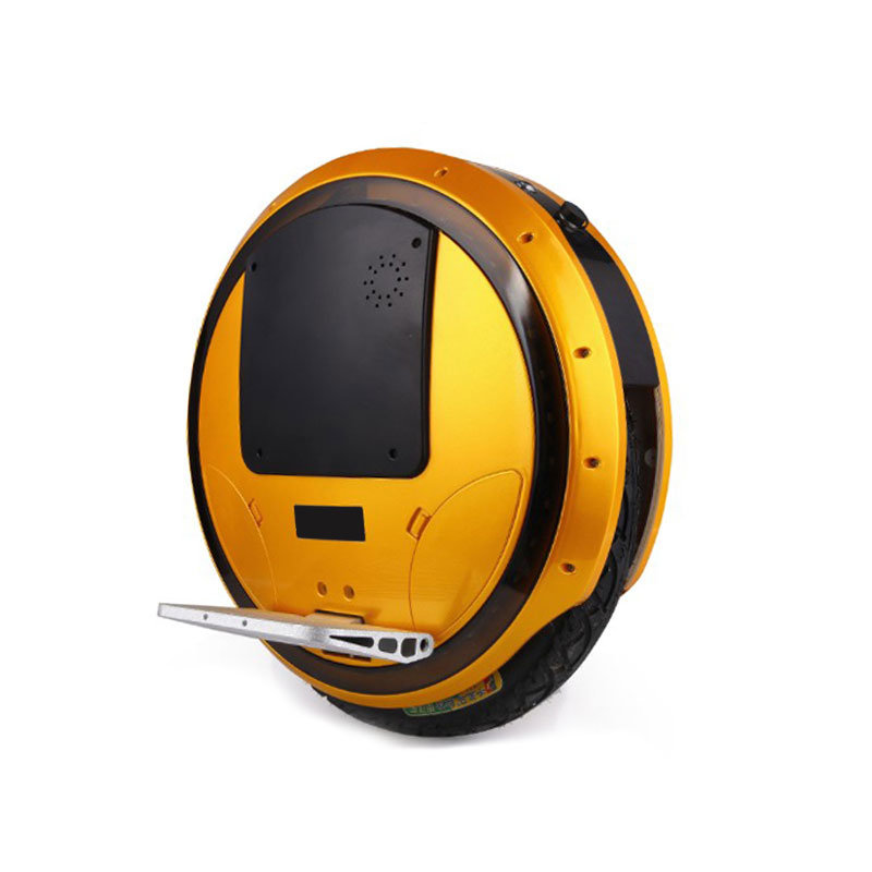 16 Inch Self Balancing Electric Unicycle with Bluetooth Cool Lights