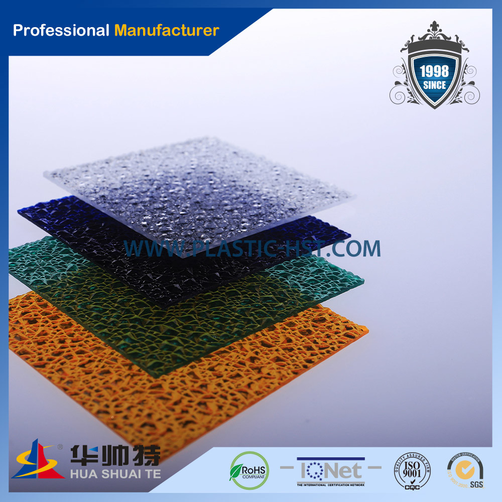 Embossed PC Sheet Polycarbonate Diamond Sheet