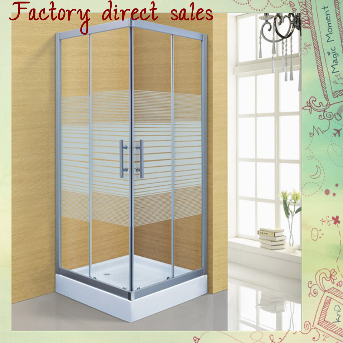 Hot Selling Bathroom Sanitary Ware Shower Cabin (A-238)