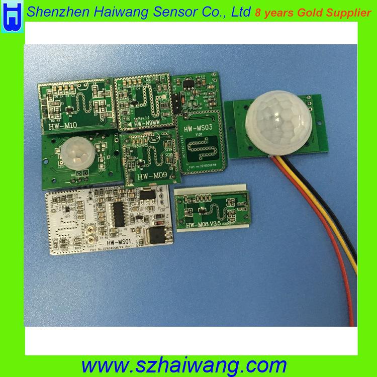 12V 24V Doppler Radar Motion Detector Module for LED Lighting