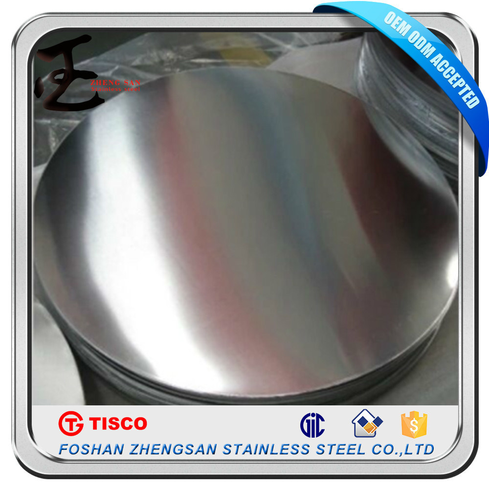 201 Aod Material Stainless Steel Circle