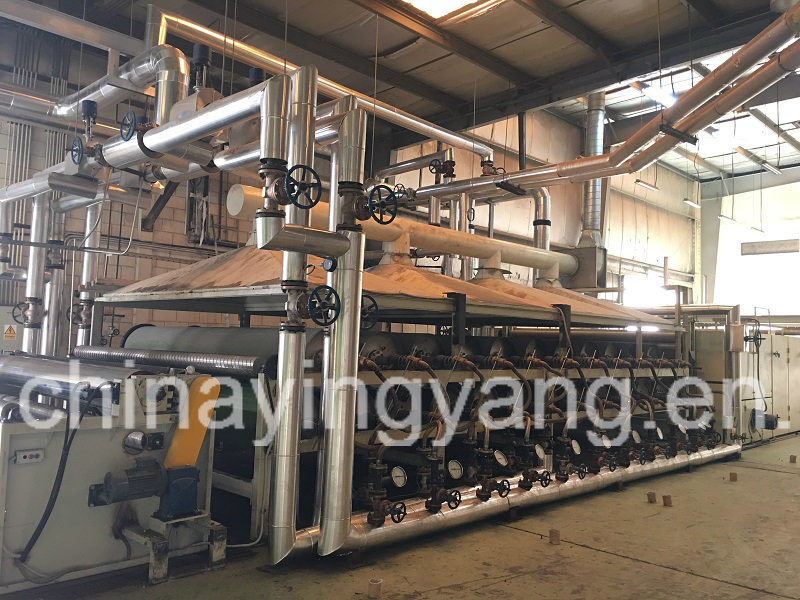 Multi-Cylinder Drying Machine (Can dryer)