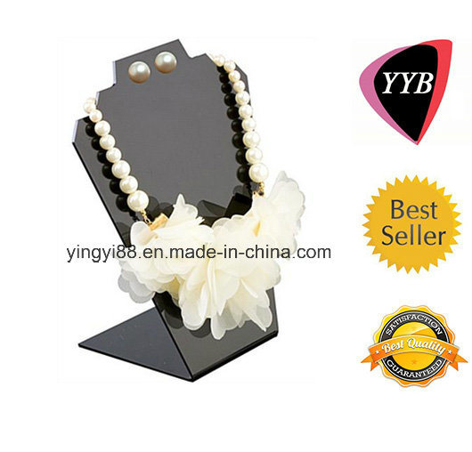 Custom Clear Plastic Acrylic Jewelry Displays for Necklaces