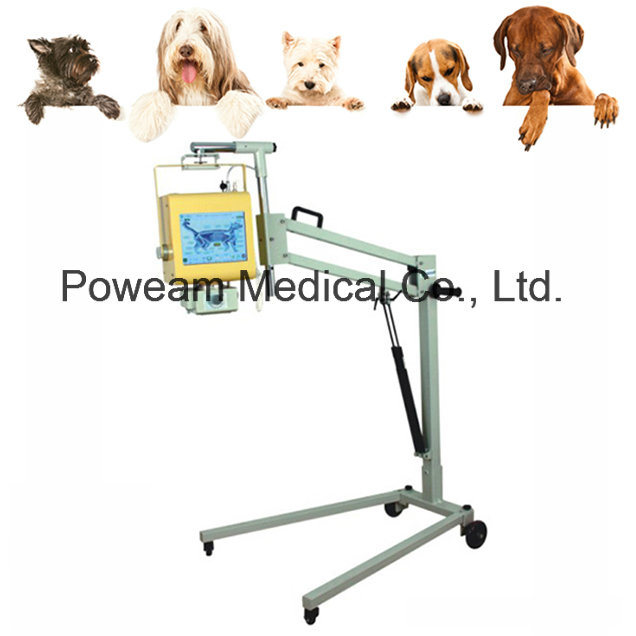 CE Approved 4.0kw Mobile Portable Veterinary X-ray Unit