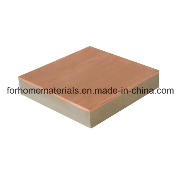 Abrasion Resistant Plate Explosive Bonding Red Copper Steel Clad Sheet