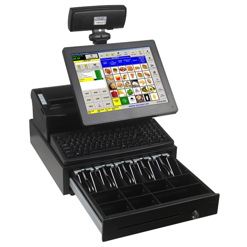 Electronic Point-of-Sale System POS Terminal Cash Register