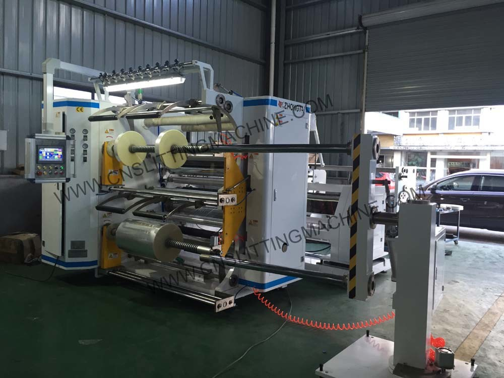 High Speed Slitting and Rewinding Machine for Film, Paper, Label and Stamping Foil
