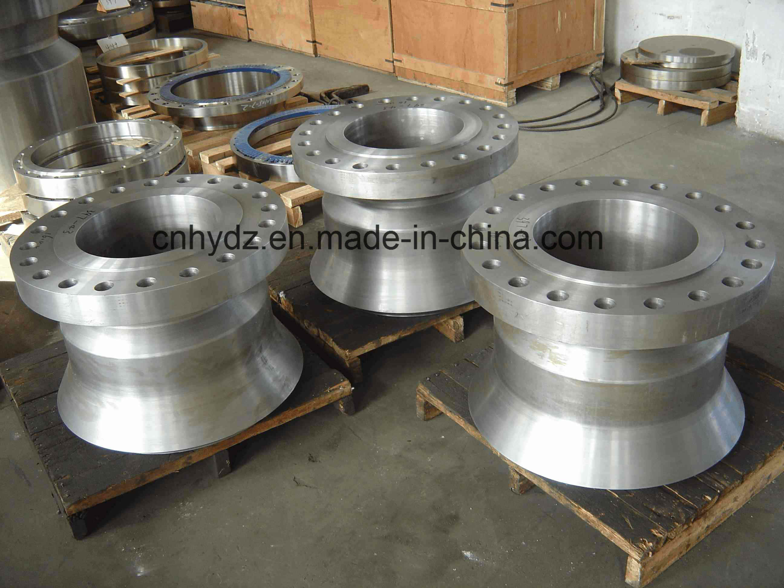 Hot Forged 16mn Abnormality Nozzle Flange