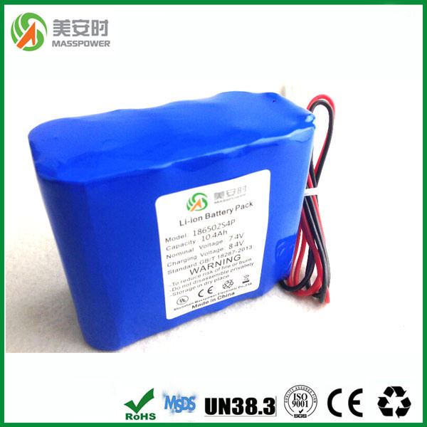 Li-ion Battery 7.4V 10ah with Original Samsung Cells