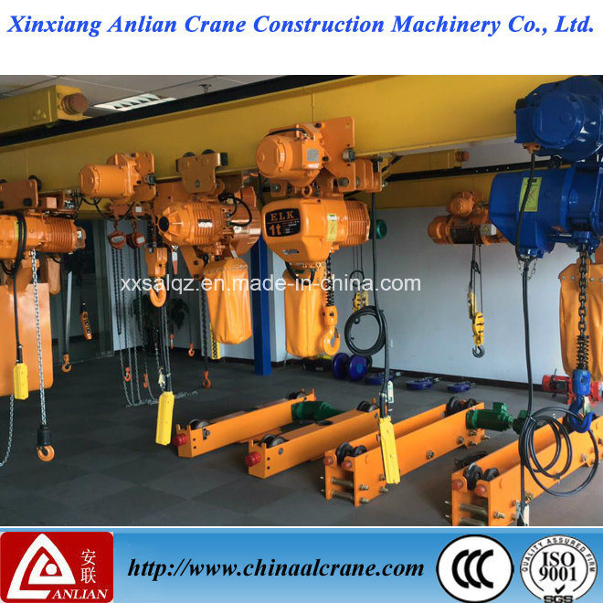 The Electric Chain Lifting Hoist with Trolley