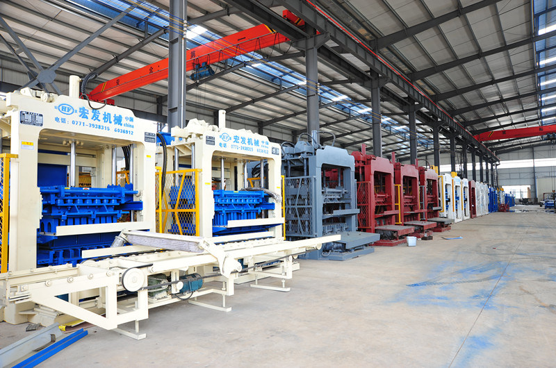 Automatic Cement Concrete Block Brick Making Machine Brick Forming Machine