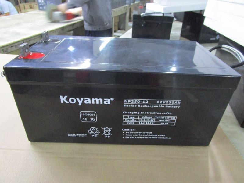 12V250ah Sealed Lead Acid Battery / VRLA AGM Battery/UPS Storage Battery