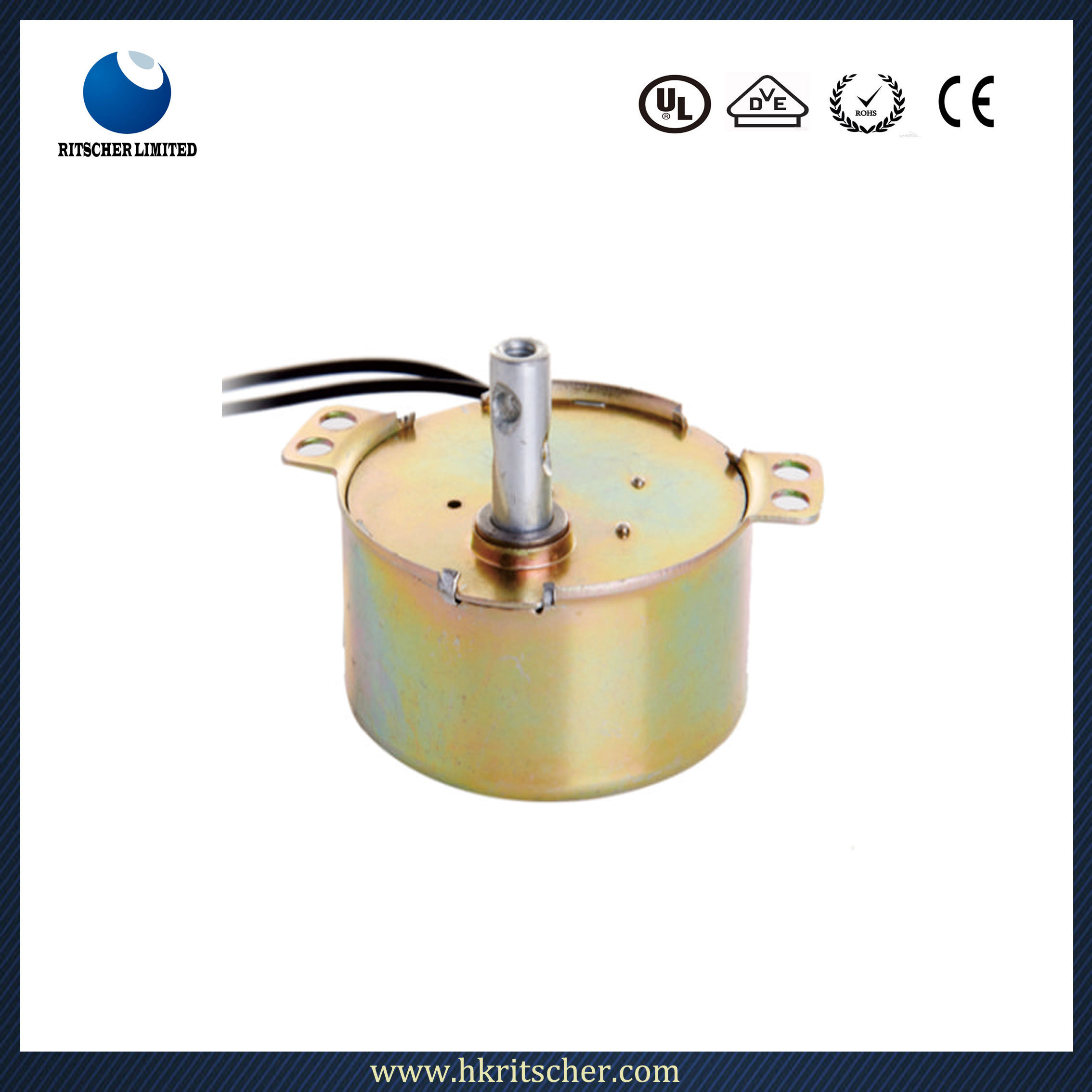 Tyd49 Reversible Permanent Magnet Synchronous Micro Motor