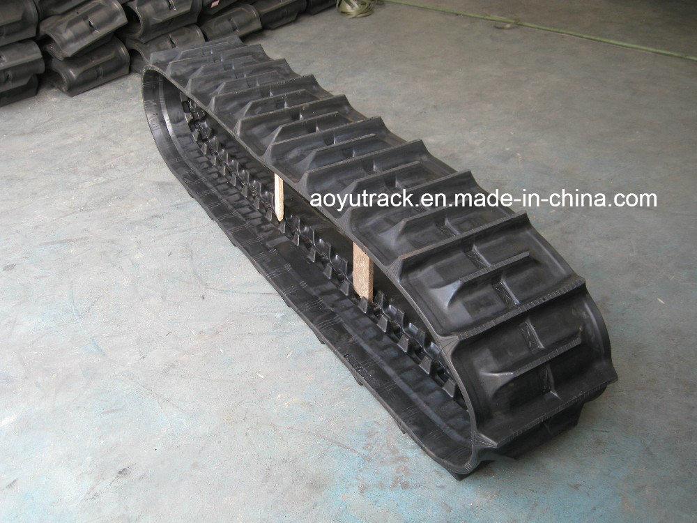 Harvester Rubber Track