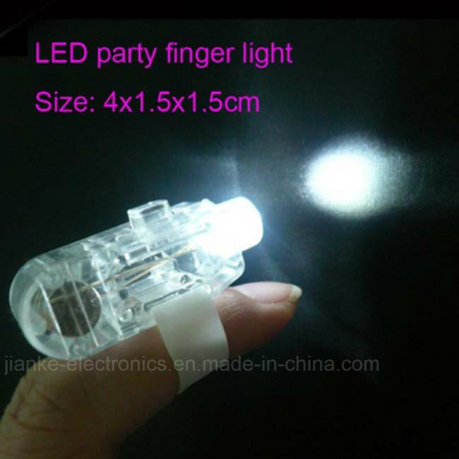 Party Favor Blinking LED Flashlight with Logo Printed (4012)