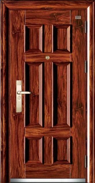 Armored Aluminum Door