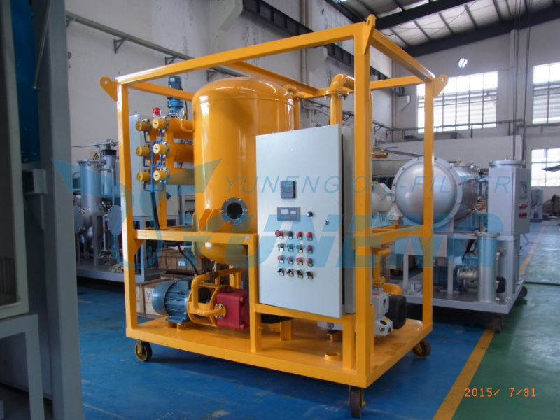 Transformer Oil Particles Refining Machine for Transformer Maintenance Yuneng Zja Series