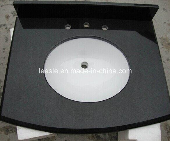 Absolute Black Granite Building Material Granite Tile Vanity Top
