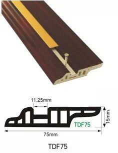 PVC Flooring Accessroeis of 7.5cm Water-Proof Skirting Profile