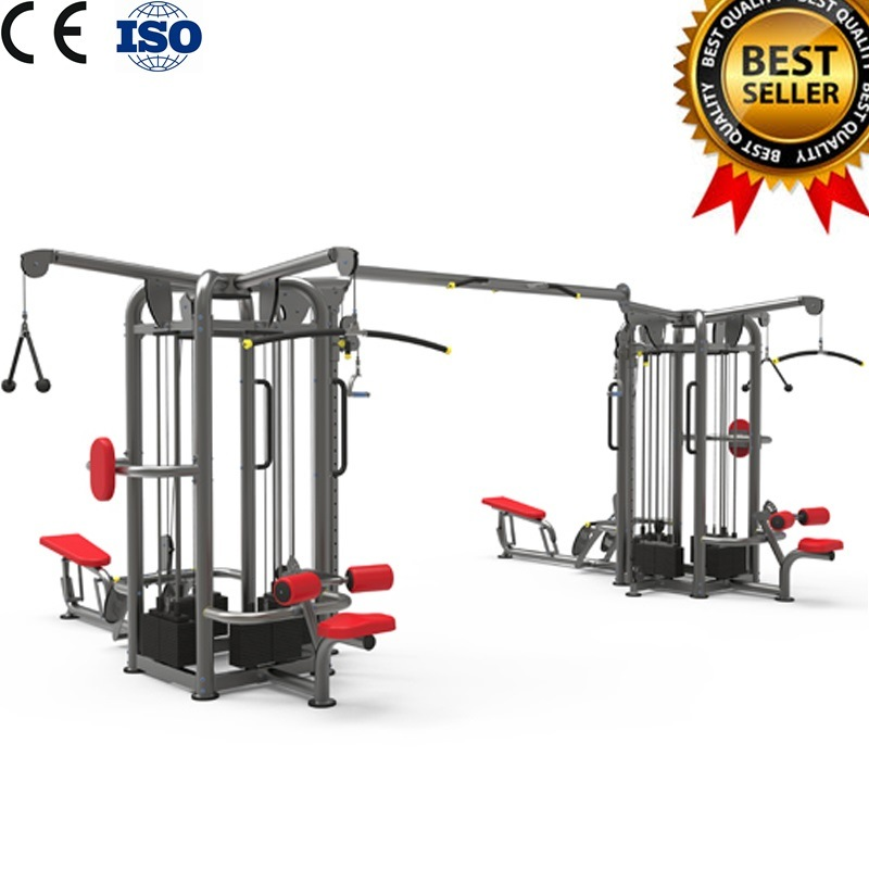 Multi Station 9 Station-Dual Pod Gym Fitness Equipment Multistation Multifunction Integrated Combination