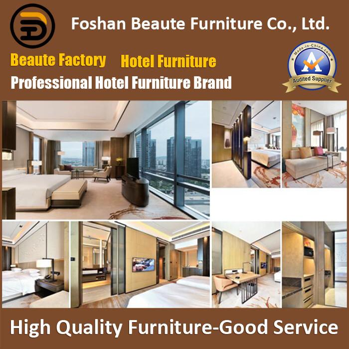 Hotel Furniture/Luxury King Size Hotel Bedroom Furniture/Restaurant Furniture/Double Hospitality Guest Room Furniture (GLB-0109813)