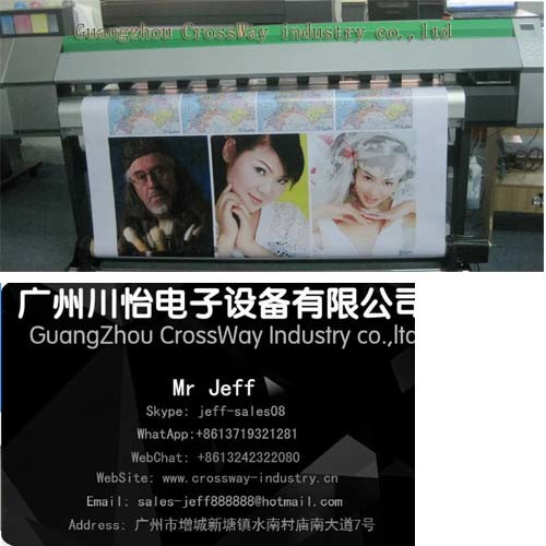 Eco Solvent Printer for Outdoor Banner Vinyl Vision 1.8m