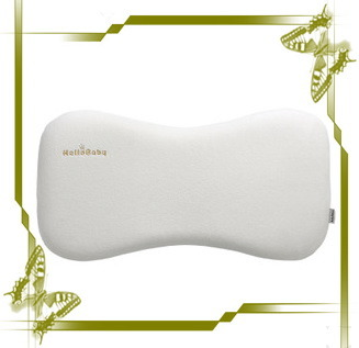 The Bone Shape Memory Foam Latex Slow Rebound Perforated Baby Pillow