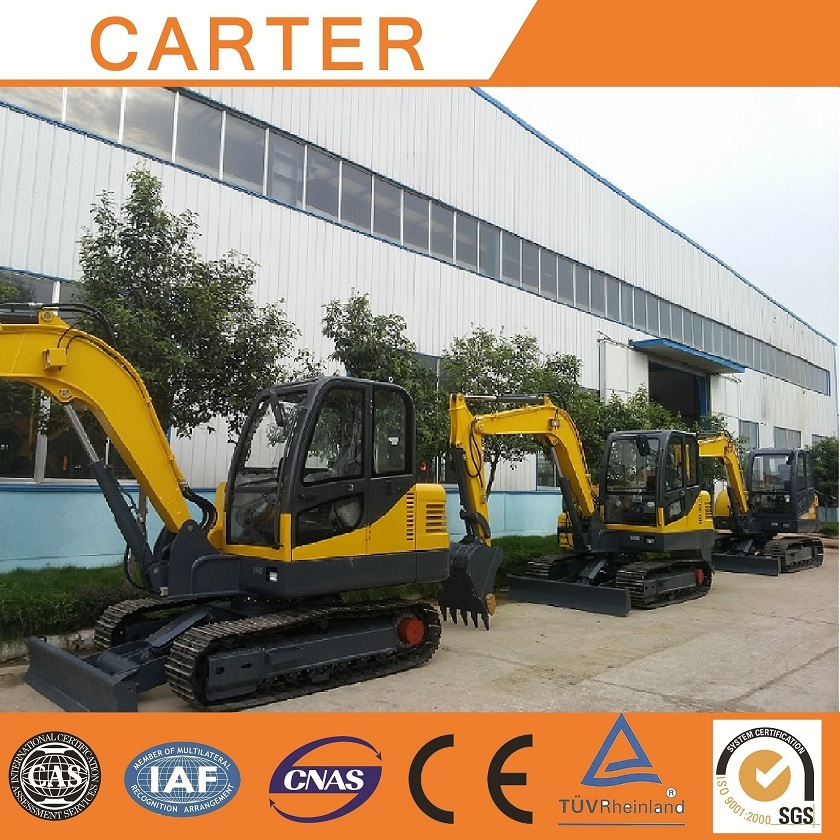 Hot Sales Hydraulic Type CT45-8b (4.5t) Multifunction Crawler Backhoe Mini Excavator