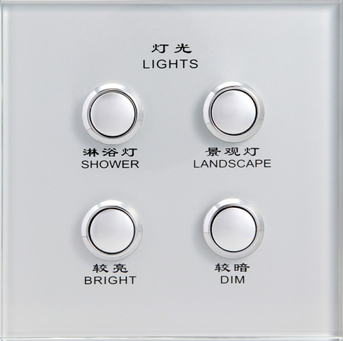 Touch Switch Panel Glass