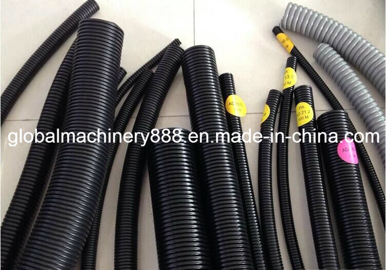 Flexible Plastic Corrugated Hose Conduit Pipe Making Machine