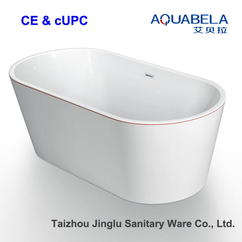 Seamless Connected Apron Acrylic Bathtub Bath (JL609)
