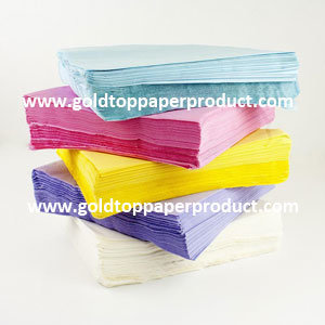 Luncheon Paper Napkins Tableware Facial Tissue with Factory Price