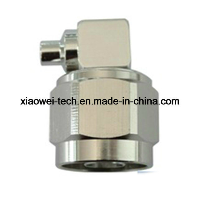 N Male Right Angle Connector for LMR300