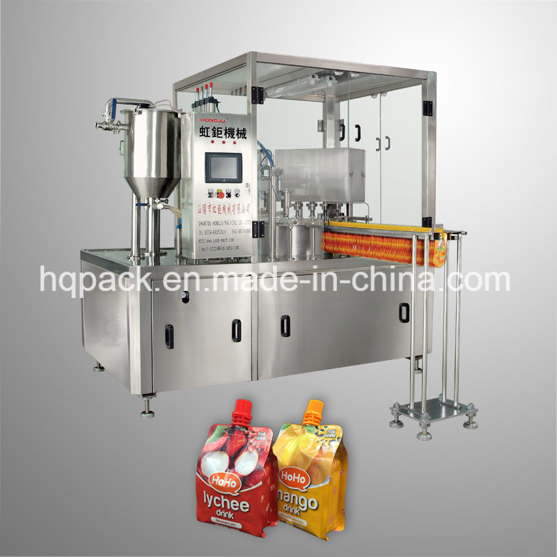 Sachet Bag Filling Machine for Lychee Mango Juice