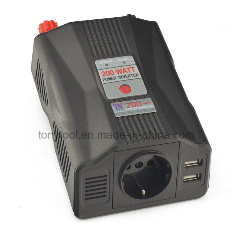 Power Inverter with USB Charger